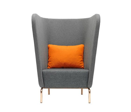 Red Stitch,Lounge Chairs,chair,club chair,furniture,orange