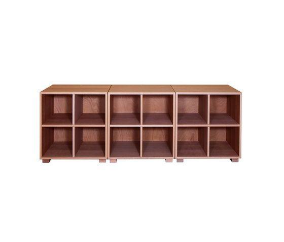 De Breuyn,Storage Furniture,brown,furniture,rectangle,shelf,shelving,table,wood