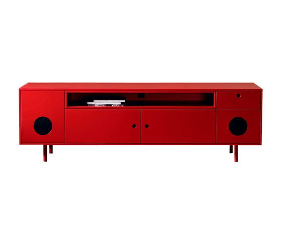miniforms,Cabinets & Sideboards,furniture,red,sideboard,table