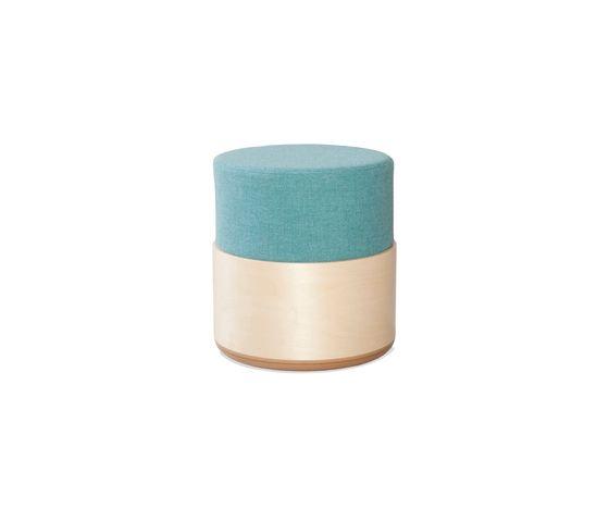 Balzar Beskow,Footstools,aqua,beige,green,turquoise