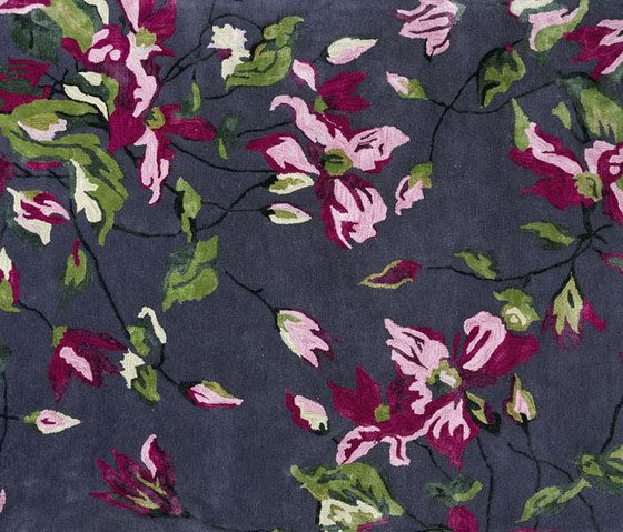 Designers Guild,Rugs,leaf,maroon,pattern,pink,plant,textile