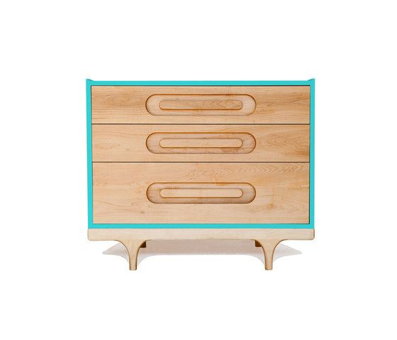 De Breuyn,Storage Furniture,chest,chest of drawers,drawer,furniture,nightstand,table,turquoise