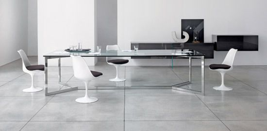 Gallotti&Radice,Dining Tables,chair,desk,floor,flooring,furniture,interior design,line,material property,room,table,tile
