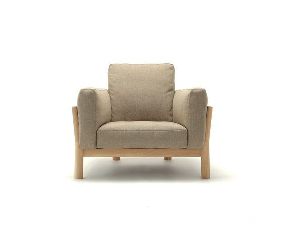 Karimoku New Standard,Lounge Chairs,beige,chair,club chair,furniture