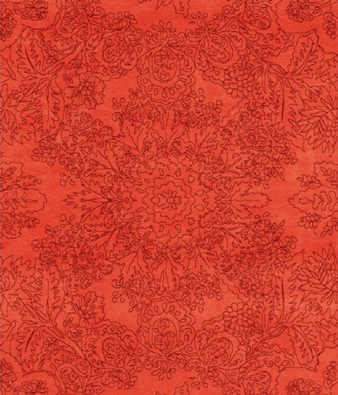 Living Divani,Rugs,design,orange,pattern,red,textile,wrapping paper