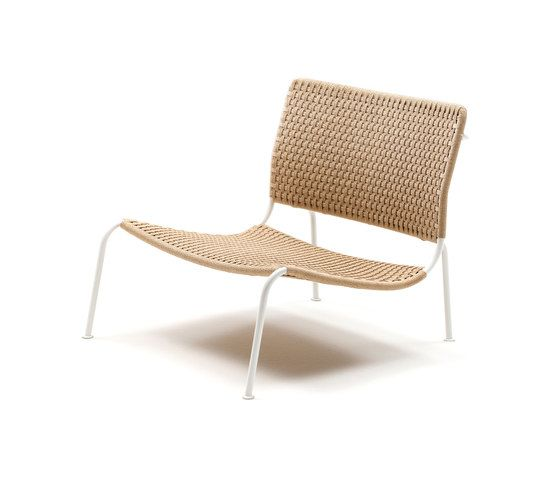 Living Divani,Lounge Chairs,beige,chair,furniture,outdoor furniture,wicker
