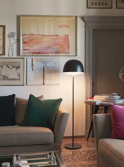 FontanaArte,Floor Lamps,building,couch,floor,furniture,house,interior design,lighting,living room,room,table,wall
