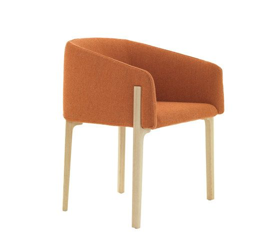 De Padova,Dining Chairs,chair,furniture,orange,tan