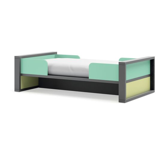 LAGRAMA,Beds,bed frame,furniture,product,rectangle,studio couch,table,turquoise