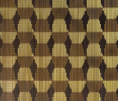 KriskaDECOR®,Screens,beige,brown,design,pattern,plaid,textile