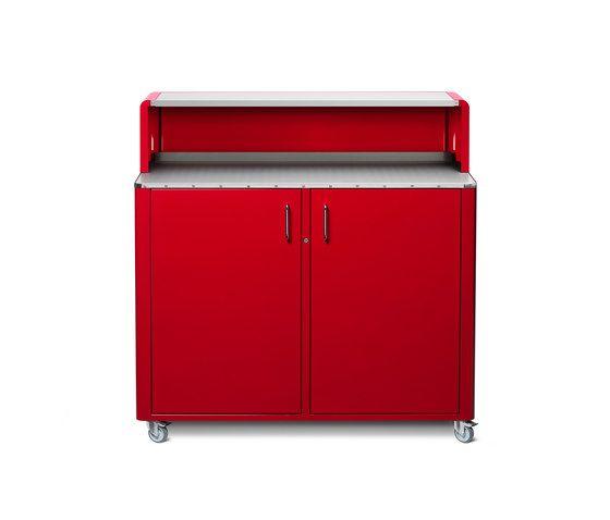 Müller Möbelfabrikation,Cabinets & Sideboards,furniture,line,red,sideboard