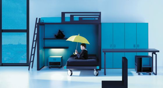 LAGRAMA,Beds,architecture,blue,couch,furniture,house,interior design,room,turquoise