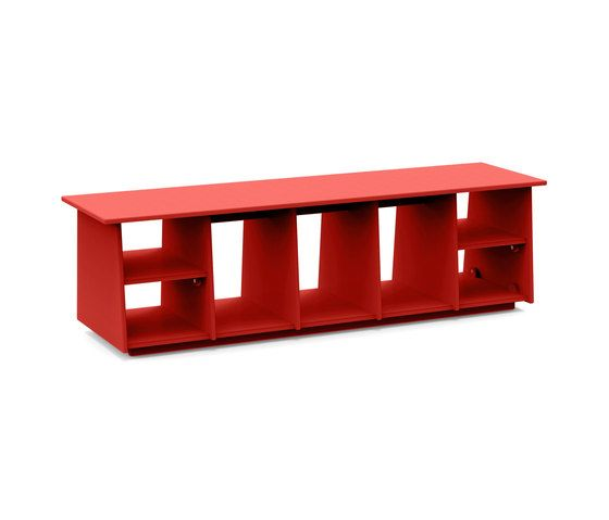 Loll Designs,Storage Furniture,furniture,product,rectangle,red,shelf,shelving,table
