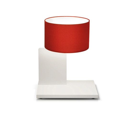 filumen,Table Lamps,cylinder,lamp,lampshade,lighting,material property,red,table