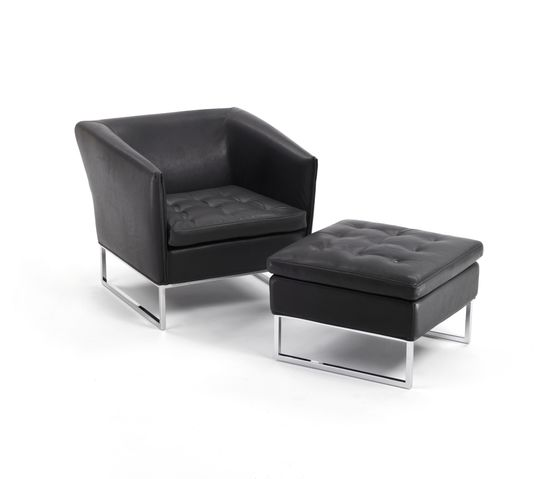Giulio Marelli,Lounge Chairs,black,chair,club chair,couch,furniture,leather,ottoman,product,table