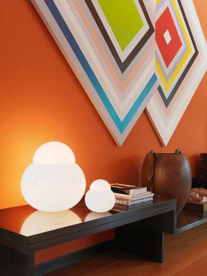 FontanaArte,Table Lamps,brown,ceiling,design,furniture,interior design,orange,room,table,wall,wallpaper,yellow