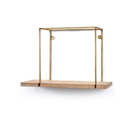 Serax,Bookcases & Shelves,brass,furniture,rectangle,shelf,table