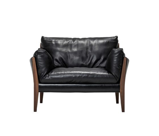 Ritzwell,Lounge Chairs,black,chair,club chair,couch,furniture,leather,loveseat