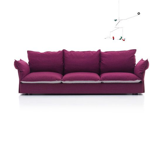 Mussi Italy,Sofas,couch,furniture,magenta,pink,purple,sofa bed,studio couch,violet