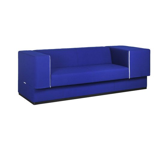 Red Stitch,Sofas,blue,cobalt blue,couch,electric blue,furniture,rectangle,sofa bed,violet