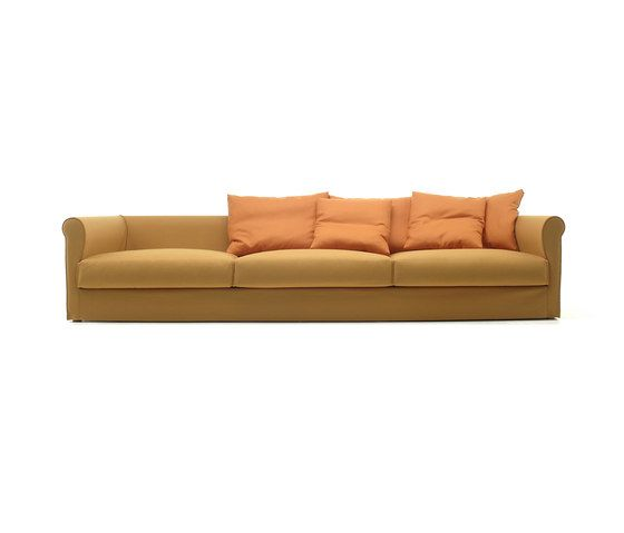Living Divani,Sofas,beige,brown,couch,furniture,leather,orange,room,sofa bed,studio couch,yellow