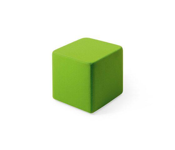 Lande,Footstools,green,rectangle,stool