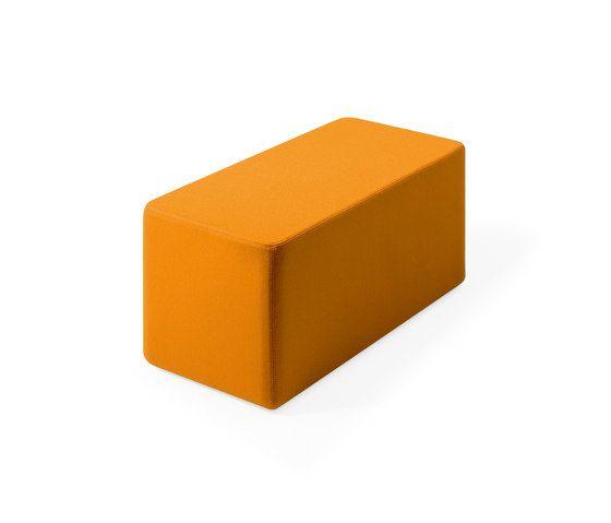 Lande,Footstools,orange,rectangle,yellow