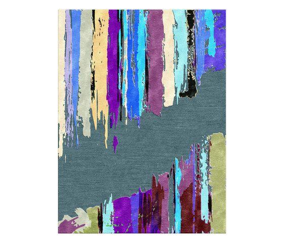 Illulian,Rugs,line,purple,rectangle,turquoise,violet