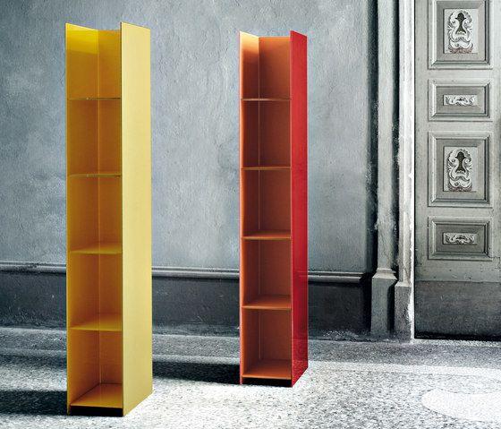 Glas Italia,Bookcases & Shelves,column,furniture,material property,orange,shelf,shelving