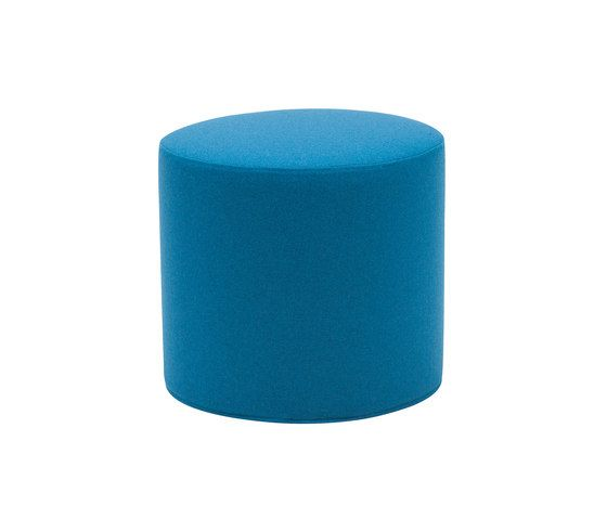 Softline A/S,Footstools,aqua,blue,cylinder,furniture,stool,teal,turquoise