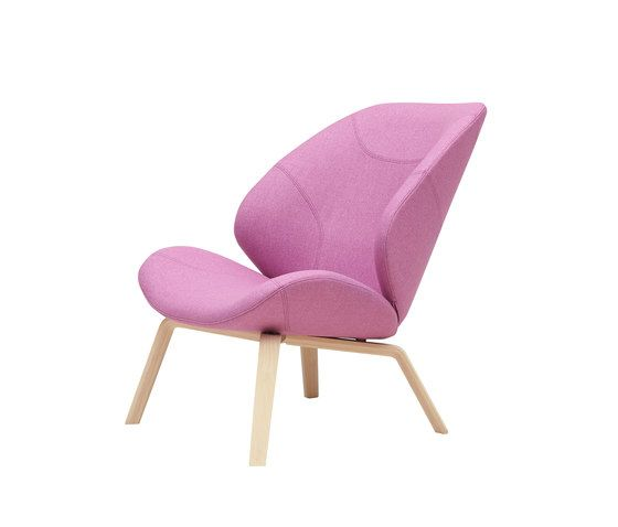 Softline A/S,Lounge Chairs,chair,furniture,magenta,pink,purple,violet