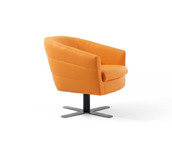 Durlet,Lounge Chairs,armrest,chair,club chair,furniture,line,orange,yellow