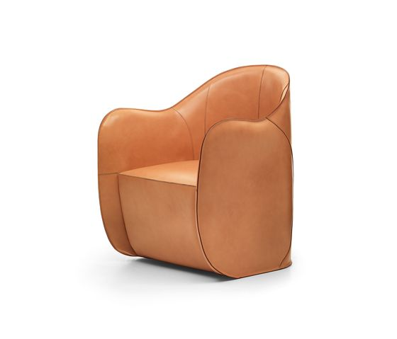 Eponimo,Lounge Chairs,beige,brown,chair,club chair,furniture,leather,tan