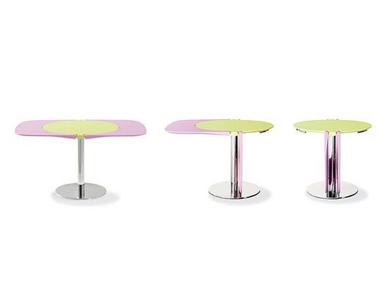 Bonaldo,Dining Tables,cake stand,coffee table,furniture,material property,outdoor table,pink,table,violet