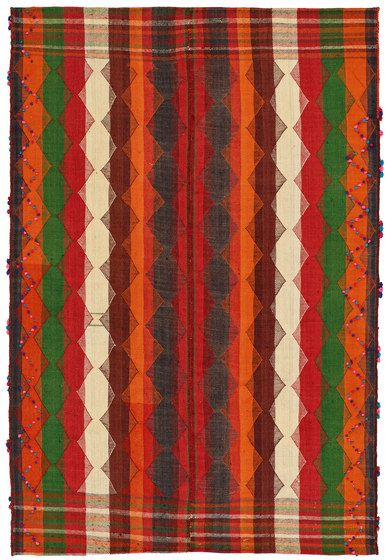 Zollanvari,Rugs,design,orange,pattern,plaid,textile