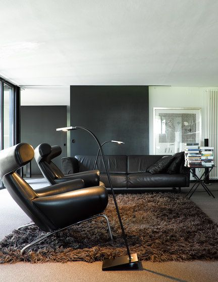 Anta Leuchten,Floor Lamps,architecture,automotive design,chair,coffee table,couch,design,floor,furniture,home,house,interior design,living room,property,room,table,wall