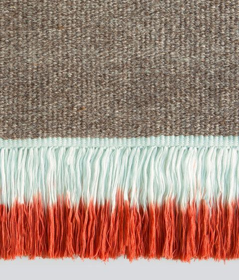 Kinnasand,Rugs,fur,orange,red,textile,turquoise,wool,woolen