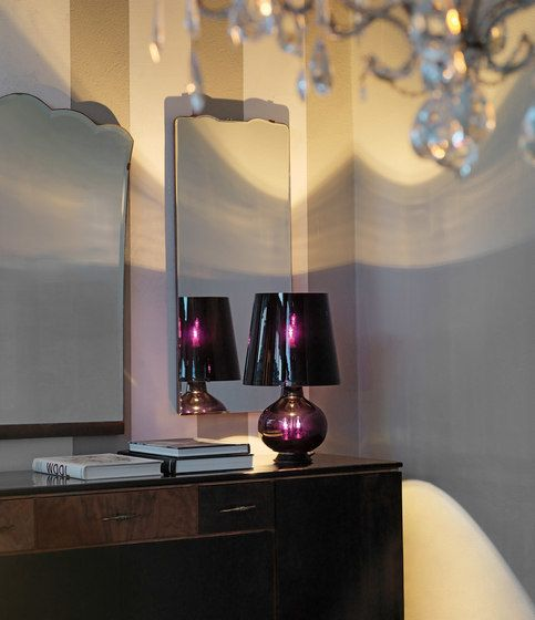 FontanaArte,Table Lamps,architecture,ceiling,design,furniture,home,house,interior design,light,light fixture,lighting,lighting accessory,material property,property,purple,room,violet,wall