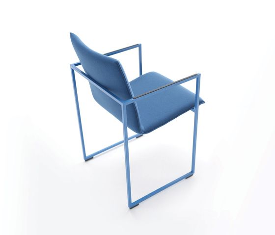Arco,Dining Chairs,armrest,blue,chair,cobalt blue,design,furniture