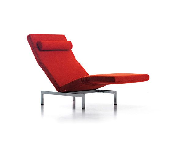Mussi Italy,Seating,chair,chaise longue,furniture,orange,recliner,red