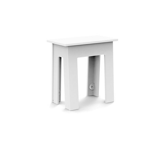 Loll Designs,Stools,furniture,stool,table,white
