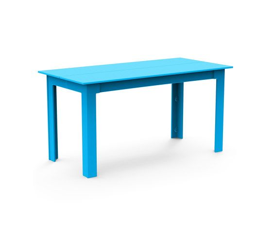Loll Designs,Dining Tables,desk,furniture,outdoor furniture,outdoor table,rectangle,sofa tables,table,turquoise