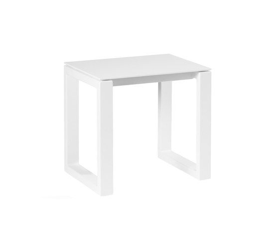 Manutti,Stools,end table,furniture,material property,outdoor table,rectangle,sofa tables,stool,table,white
