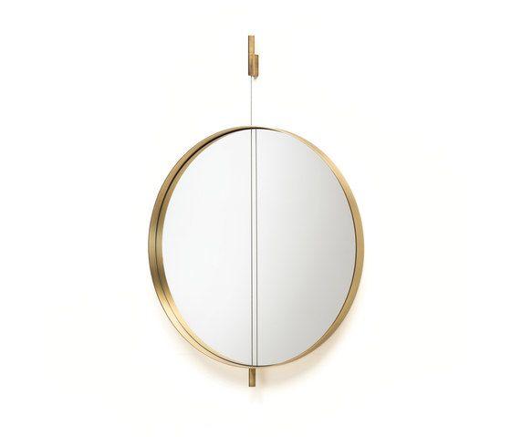 Living Divani,Mirrors,brass,circle