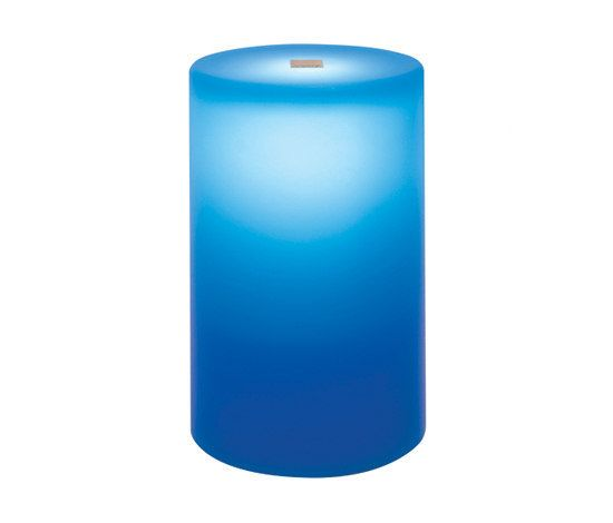 Neoz Lighting,Table Lamps,aqua,azure,blue,cobalt blue,cylinder,electric blue,turquoise