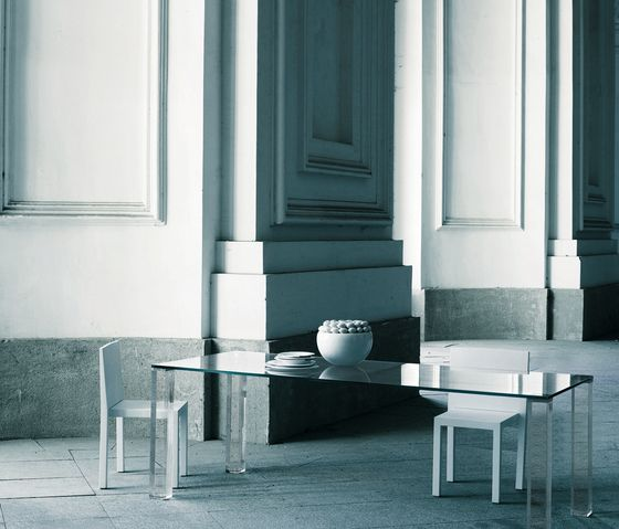 Glas Italia,Dining Tables,black-and-white,chair,coffee table,furniture,interior design,material property,room,table,wall