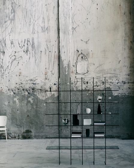 Glas Italia,Bookcases & Shelves,architecture,chair,furniture,line,room,table,wall