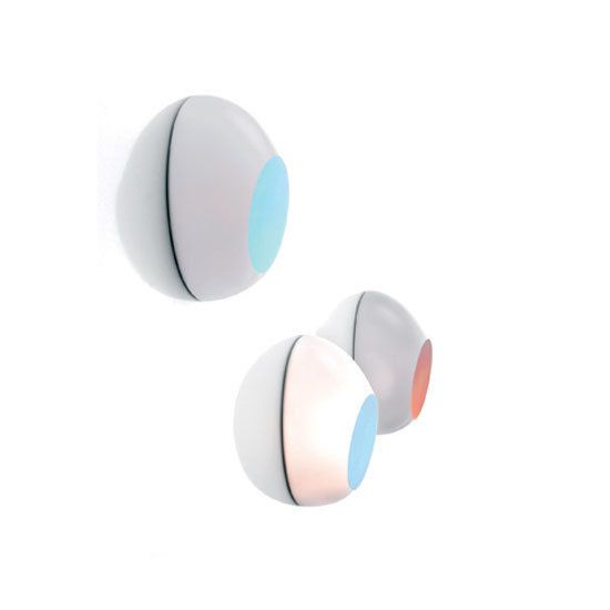 LUCEPLAN,Wall Lights,circle,design,product,turquoise