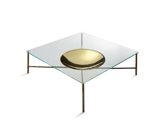 Gallotti&Radice,Coffee & Side Tables,brass,coffee table,furniture,table