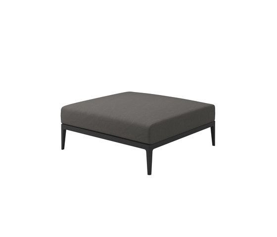 Gloster Furniture,Stools,coffee table,furniture,ottoman,rectangle,table